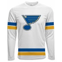 St. Louis Blues Authentic Scrimmage FX Long Sleeve T-Shirt