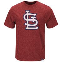 St. Louis Cardinals Mental Metal Slub T-Shirt