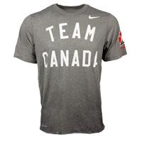 Team Canada IIHF Dri-FIT Legend T-Shirt (Grey)