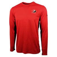 Team Canada IIHF Speed Dri-FIT Long Sleeve T-Shirt (Red)