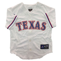 Texas Rangers Majestic Child Home Replica Baseball Jersey
