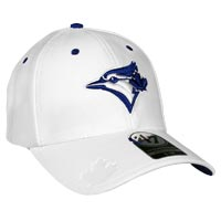 Toronto Blue Jays Big Boss Stretch Fit Cap (White)