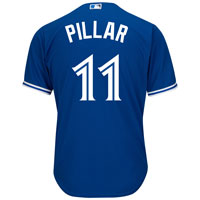 Toronto Blue Jays Kevin Pillar 2018 Cool Base Replica Alternate MLB Baseball