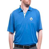Toronto Maple Leafs Shadow Text Evolve Polo