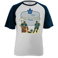 Toronto Maple Leafs Table Top FX Raglan T-Shirt