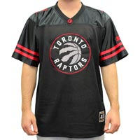 "Toronto Raptors Starter NBA ""Blindside"" Football Jersey"