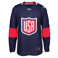 USA Hockey World Cup Of Hockey Premier Replica Blue Jersey