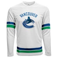 Vancouver Canucks Authentic Scrimmage FX Long Sleeve T-Shirt