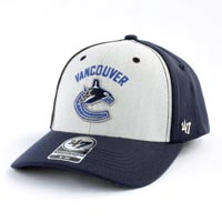 Vancouver Canucks Backstop Stretch Fit Cap