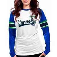 Vancouver Canucks Women's Celebration FX Raglan Long Sleeve T-Shirt
