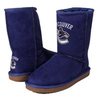 Vancouver Canucks Women's Cuce Devotee Boot