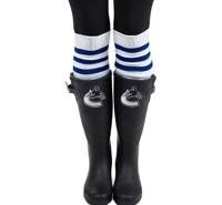 Vancouver Canucks Women's Cuce Frontrunner Rain Boots & Socks
