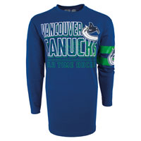 Vancouver Canucks YOUTH Bandit Long Sleeve T-Shirt