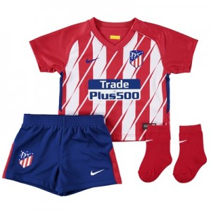 Atlético de Madrid Home Stadium Kit 2017-18 – Infants