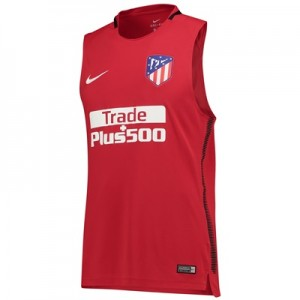 Atlético de Madrid Squad Sleeveless Training Top – Red