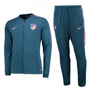 Atlético de Madrid Squad Knit Tracksuit – Lt Blue