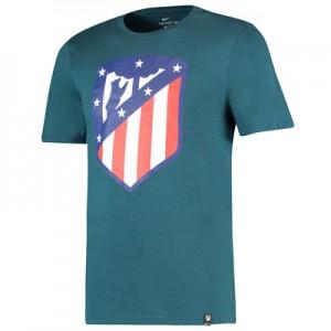 Atlético de Madrid Crest T-Shirt – Teal