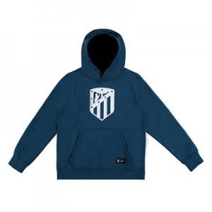 Atlético de Madrid Core Hoodie – Teal – Kids