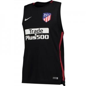 Atlético de Madrid Squad Sleeveless Training Top – Black
