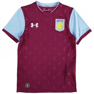 Aston Villa Home Shirt 2017-18 – Kids