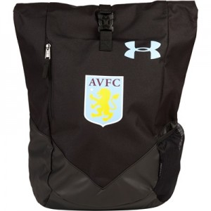 Aston Villa Roll Trance Bag – Black