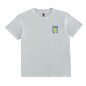 Aston Villa Classic T-Shirt – White – Junior