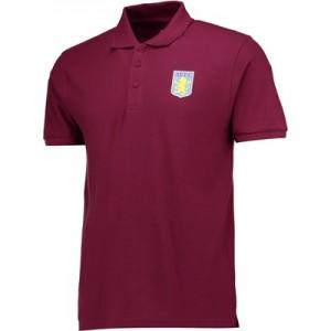 Aston Villa Classic Polo Shirt – Claret – Mens