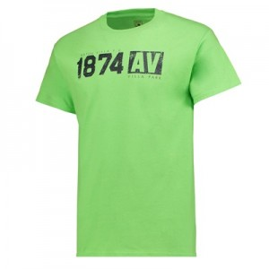 Aston Villa 1874 T-Shirt – Green – Mens