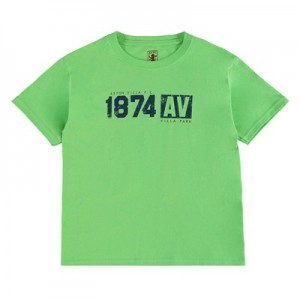 Aston Villa 1874 T-Shirt – Green – Junior