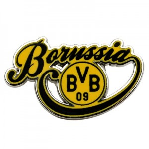 BVB Borussia Crest Pin Badge
