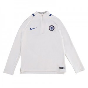 Chelsea Squad Drill Top – White – Kids