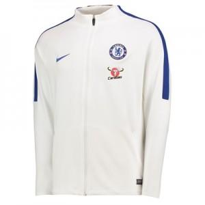 Chelsea Strike Aeroswift Track Jacket – White