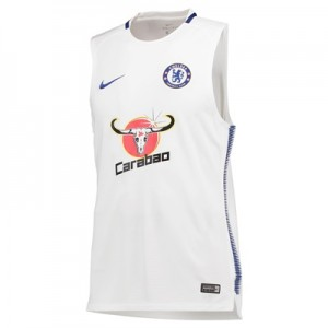Chelsea Squad Training Sleeveless Top – White