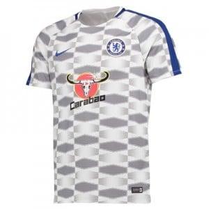 Chelsea Squad Pre-Match Training Top – White