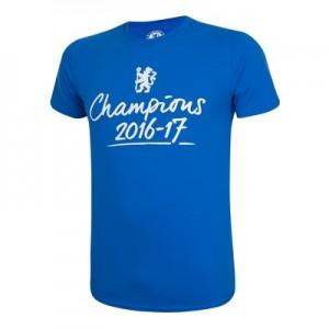 Chelsea Champions 2016-17 T-Shirt – Royal – Mens