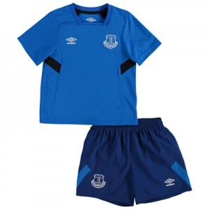 Everton Infant Training Kit – Electric Blue/Sodalite Blue/Black