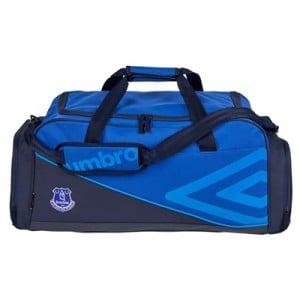 Everton Pro Training Medium Holdall – Dark Navy/Deep Surf/Electric Blu