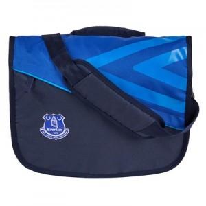Everton Pro Training Shoulder Bag – Dark Navy/Deep Surf/Electric Blue
