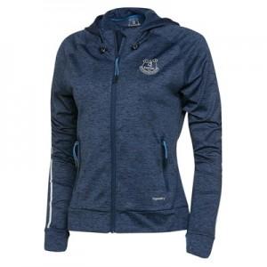 Everton Sport Full Zip Hoodie – Eclipse Marl/Reflective – Womens