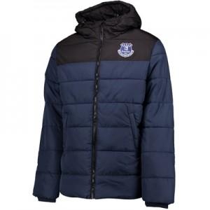 Everton Essential Padded Coat – Navy/Black