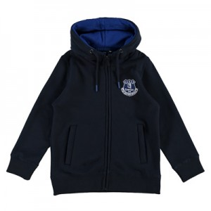 Everton Essential Full Zip Hoodie – Navy (6-13yrs)