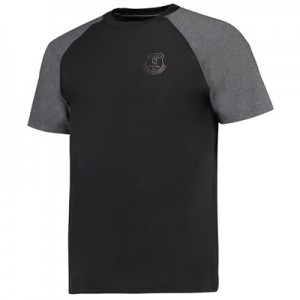Everton Ath T-Shirt – Black/Charcoal Marl