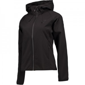 Everton Ath Softshell Jacket – Black – Womens