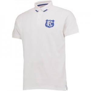 Everton Goodison 125 Years Polo Shirts – White – Mens