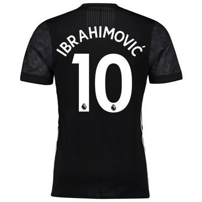 Manchester United Away Adi Zero Shirt 2017-18 with Ibrahimovic 10 prin