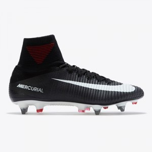 Nike Mercurial Superfly V Soft Ground Football Boots – Black/White/Dar