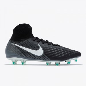 Nike Magista Orden II Firm Ground Football Boots – Black/White/Dark Gr