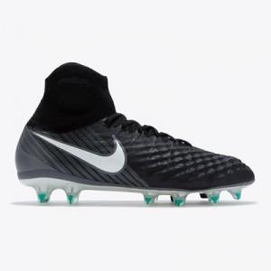 Nike Magista Obra II Firm Ground Football Boots – Black/White/Dark Gre