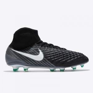 Nike Magista Obra II Firm Ground Football Boots – Black/White/Dark Gre