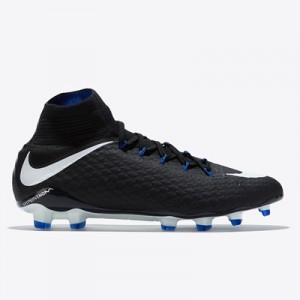 Nike Hypervenom Phatal III Dynamic Fit Firm Ground Football Boots – Bl